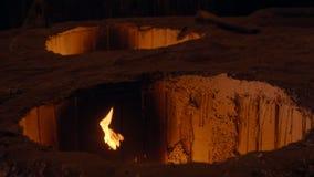 Moldes calientes en la fundición metrajes