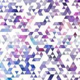 Moldes criativos do projeto do fundo azul do mosaico da grade ilustração royalty free