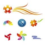 Moldes da marcagem com ferro quente/logotipo Fotografia de Stock Royalty Free