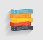 Moldes de Infographic para o vetor do negócio Fotos de Stock