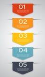 Moldes de Infographic para o vetor do negócio Foto de Stock Royalty Free