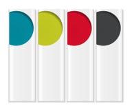 Moldes de Infographic para o vetor do negócio Imagens de Stock