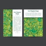Moldes de tampas do folheto Fotos de Stock Royalty Free