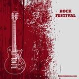 Moldes do cartaz da música do vetor ajustados Fundo tirado sujeira Abstra Imagem de Stock Royalty Free
