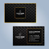 Moldes do projeto de cartão, projeto luxuoso Imagem de Stock