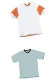 Moldes do t-shirt Foto de Stock Royalty Free