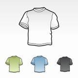 Moldes do t-shirt Imagens de Stock Royalty Free