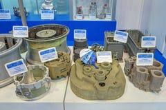 Moldes e peças de moldação Fotografia de Stock Royalty Free