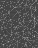 Moldes poligonais do teste padrão Imagem de Stock Royalty Free