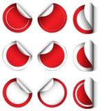 Moldes vazios do círculo Imagem de Stock