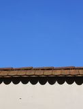 Molding with old tiles Stock Photo