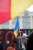 Moldova - Anti-government demonstrations Stock Images
