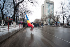 Moldova - Anti-government demonstrations Stock Photo