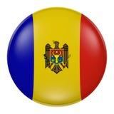 Moldova button Stock Image