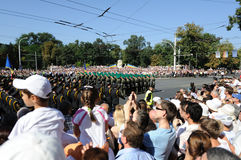 Moldova celebrates National Day Royalty Free Stock Images
