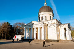 MOLDOVA, CHISINAU - DECEMBER 3: The Cathedral of Christ's Nativi Stock Images