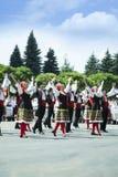 Moldova, Chisinau, Dia da Independência, quadrado do conjunto nacional, n Fotos de Stock Royalty Free