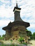 07.06.2018, moldova, Chisinau: medieval wooden church. Royalty Free Stock Photo