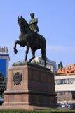 Moldova Chisinau Monument of Kotovsky Stock Photo