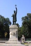 MOLDOVA CHISINAu Monument Stefan cel Mare Royalty Free Stock Images