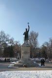MOLDOVA CHISINAu Monument Stefan cel Mare Stock Photo