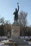 Moldova Chisinau Monument Stefan cel Mare Stock Photography