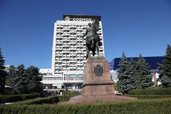 Moldova Chisinau zabytek Kotovsky Obrazy Stock