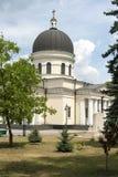 Moldova Church - Chisinau. Orthodox Christian Nativity Cathedral in center of Chisinau, the capital of Moldova. It is the main cathedral of the Moldovan Orthodox stock photo