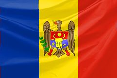 Moldova Flag Royalty Free Stock Image