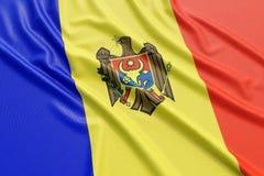 Moldova flag Stock Photos