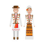 Moldova national dress Stock Photography