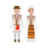 Moldova national dress Stock Photography