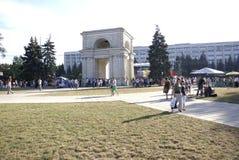 Moldova square Stock Photos
