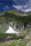 Moldoveanu in Fagaras Royalty Free Stock Image
