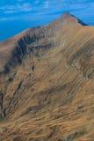 The Moldoveanu Peak in Fagaras Mountains Royalty Free Stock Photos
