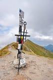 Moldoveanu Peak in Fagaras Mountains Stock Photography