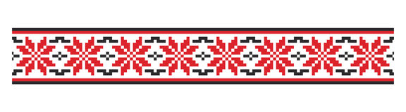 Moldovian traditional pattern Stock Photo