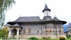 Moldovita修道院 库存图片