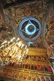 详述内部moldovita修道院 免版税库存照片