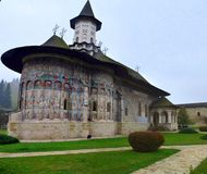 Moldovita monastery Stock Photos