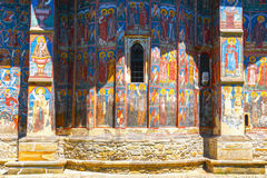 Moldovita Monastery, one of the famous painted monasteries in Romania Stock Image