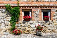 Moldovita Monastery, one of the famous painted monasteries in Romania, Unesco Heritage Royalty Free Stock Image