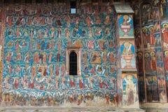 Moldovita Monastery Painting Detail Royalty Free Stock Images
