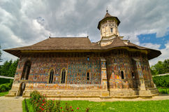 Moldovita Monastery, Romania. Moldovita monastery near Suceava, Romania Stock Photography