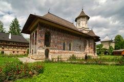 Moldovita Monastery, Romania. Stock Image