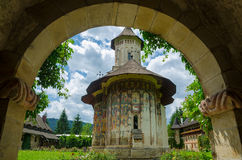 Moldovita Monastery, Romania. Royalty Free Stock Photography