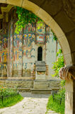 Moldovita Monastery, Romania. Moldovita monastery near Suceava, Romania Royalty Free Stock Photo