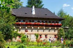 The Moldovita Monastery is a Romanian Orthodox monastery Stock Photography