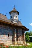 Moldovita Monastery, Suceava County, Moldavia, Ro Stock Images