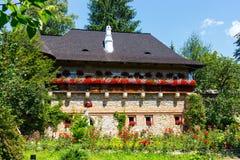 Moldovita Monastery, Suceava County, Moldavia, Ro Royalty Free Stock Image